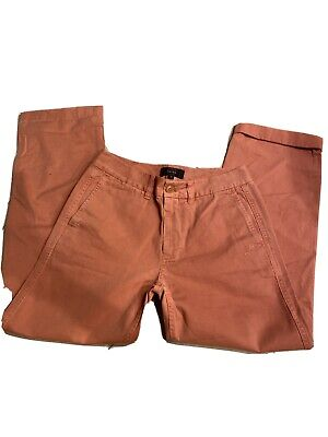 J Crew Pink Rose Chino Pants Size 0 A11