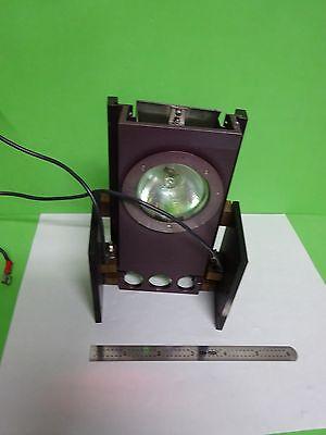 Microscope Part Reichert Leica Polylite Lamp Assembly Optics As Is Bina5-z-99