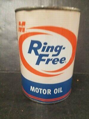 Vintage Quart Macmillan Ring Free Motor Oil Can  HTF!!