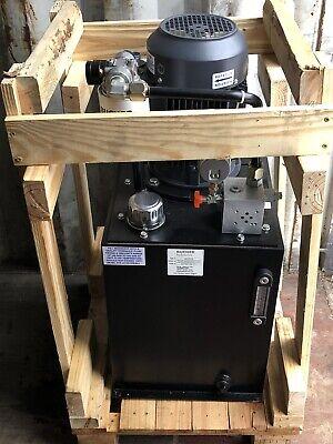 New Monarch Hydraulic Power Unit 5hp 208-230460 Vac 2500 Psi 3 Gpm 38vp28