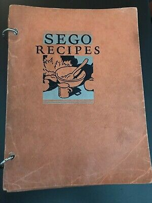 Vintage Sego Milk Products Co. Sego Recipes Book 1932