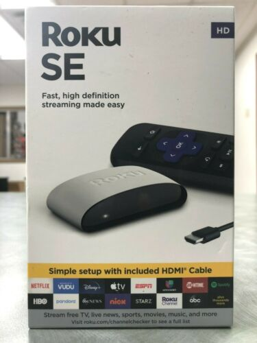 Roku SE HD Streaming Media Player - BRAND NEW