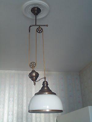 Stilvolle Art Deco Jugendstil Zuglampe