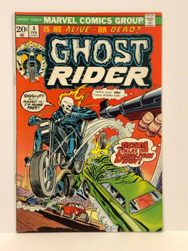 Ghost Rider #4 (1973) Gil Kane