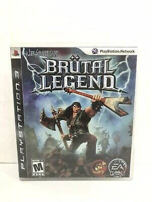 Brutal Legend (Sony PlayStation 3, 2009) Complete PS3 Free Shipping!! comprar usado  Enviando para Brazil