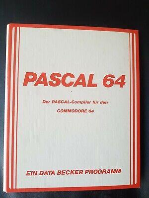 Pascal 64 (Data Becker) Commodore C64 Diskette (Diskette + Manual)