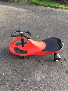 Red plasma car