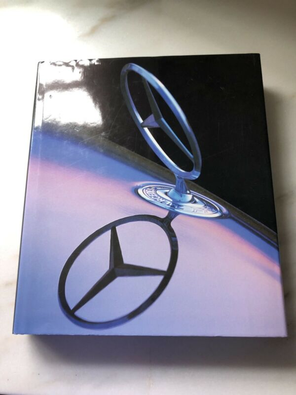 MERCEDES Hardcover Illustrated Book w/Cover--English/French/German~1997~MINT!!