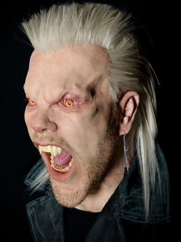 """Life Size Silicone """"David"""" Bust From THE LOST BOYS Vampire Horror Movie"""