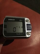 Omron blood pressure monitor & heart rate pulse meter wrist type Melbourne CBD Melbourne City Preview