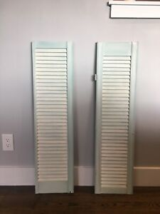 Decorative Wooden Shutters from Reclaimed Barn