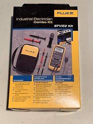 Fluke 87ve2 Industrial Electrician Combo Kit