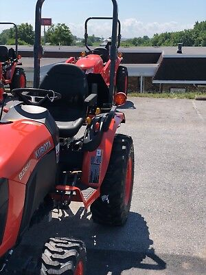Kubota B 2601 Light Protectors With Wire Guard