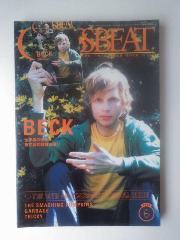 Beck Smashing Pumpkins Garbage Tricky Crossbeat Japan Rock Magazine 1998
