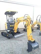 Yachai 2 Tonne Excavator,Perkins engine 3 Buckets,Hitch Warragul Baw Baw Area Preview