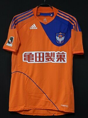 2010 Albirex Niigata J.League Jersey Soccer Shirt L (Japan Size) *FORMOTION* image