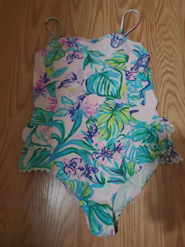 Lily Pulitzer  One-Piece Swimsuit Girls Size 12
