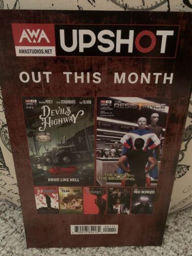 Devils Highway 1 First Printing AWA Upshot Mature Thriller Murder NM - $8.00
