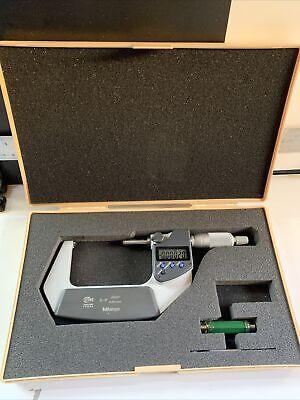 Mitutoyo 293-342 Ip 65 Coolant Proof Digital Micrometer 2-3 .00005