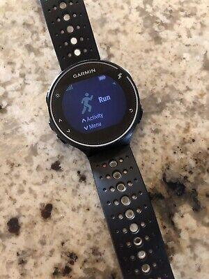 Garmin Forerunner 230 GPS Running Watch- Black/White