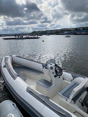 Avon Seasport Rib, rigid inflatable boat, power boat, speed boat 5.45m 100hp