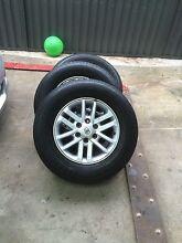 Hilux sr5 wheels Yagoona Bankstown Area Preview