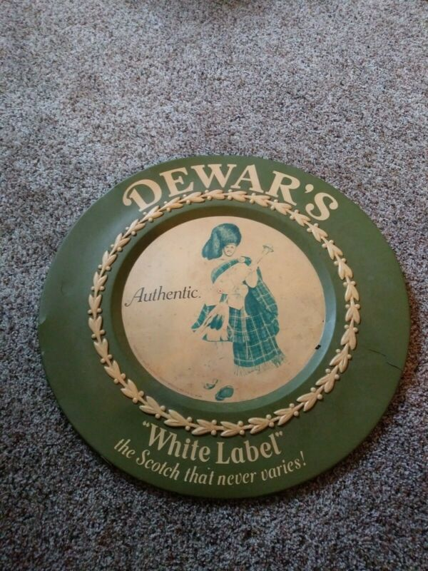 Dewars White Label Sign Bar Rescue