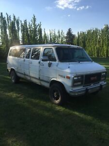 1994 GMC rally STX extended cargo van runs strong