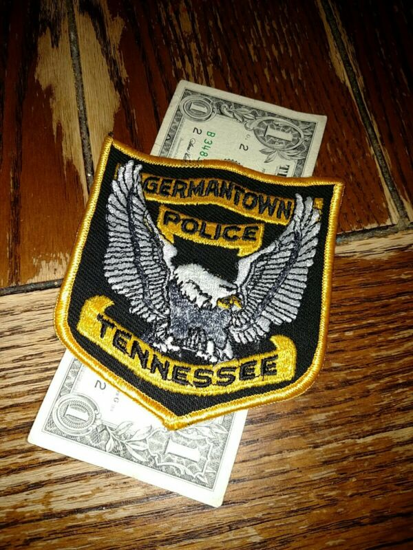 Germantown Tennessee Police Department Patch New Old Stock