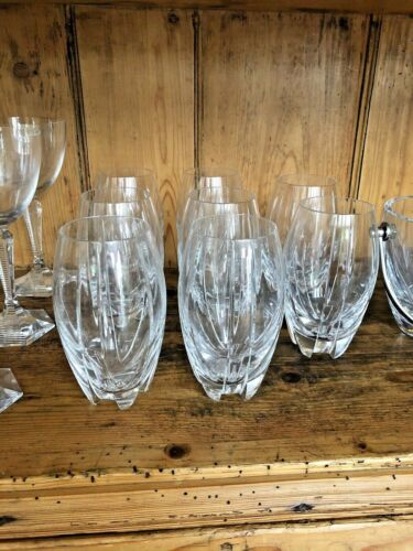 BACCARAT NEPTUNE LTD THOMAS BASTIDE NEW OLD STOCK Highball/Water Glasses