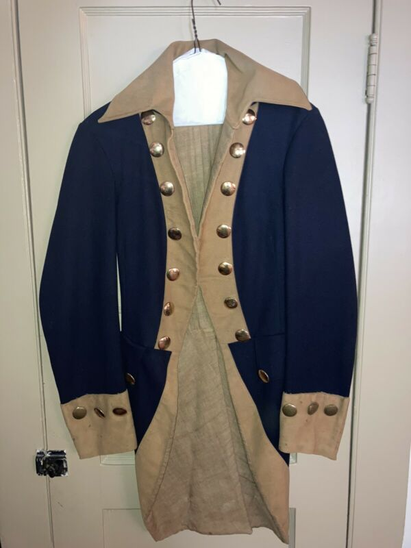 Revolutionary War Coat remake from 1940's