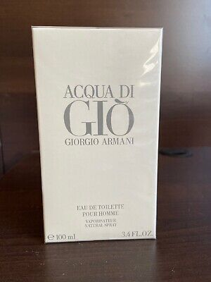 Aqua Acqua Di Gio EDT 3.3 / 3.4 by Giorgio Armani (New Sealed)