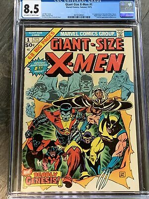 Giant-Size X-men #1 CGC 8.5 oww 1975 Wolverine 2nd Ever Appearance Key Book