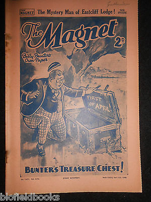 The Magnet; Billy Bunter's Own Paper - WWII Era Boy's Comic - April 6th 1940