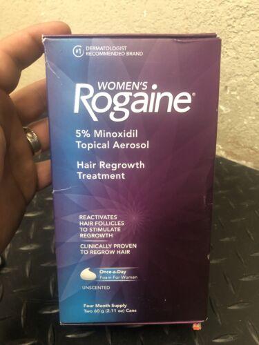 ROGAINE for Women Hair Regrowth Treatment Foam 4 Month Suppl