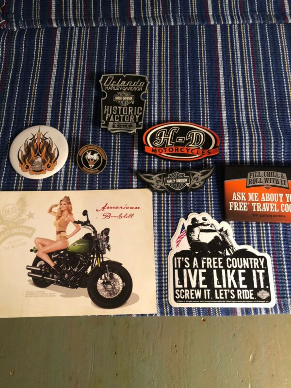 Lot of 8 Harley Davidson accesories