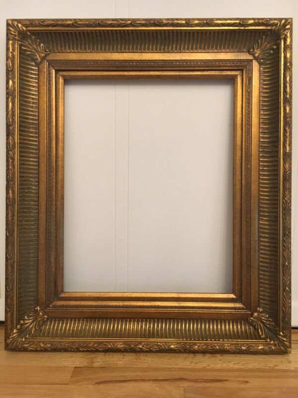 """Antique Reproduction Gold Gilt Vintage Picture Frame Opening 16""""x20"""""""