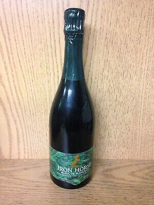 County Sparkling Wine - 1990 Iron Horse Vineyards Blanc de Blancs LD Sonoma County Sparkling White