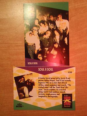 Soul II Soul ProSet Super Stars 1 MusiCards: US #135