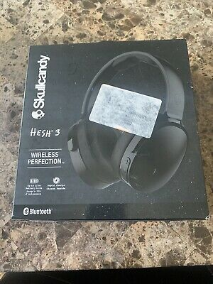 Skullcandy Hesh 3 Bluetooth Wireless Over-Ear Headphones Black Open Box