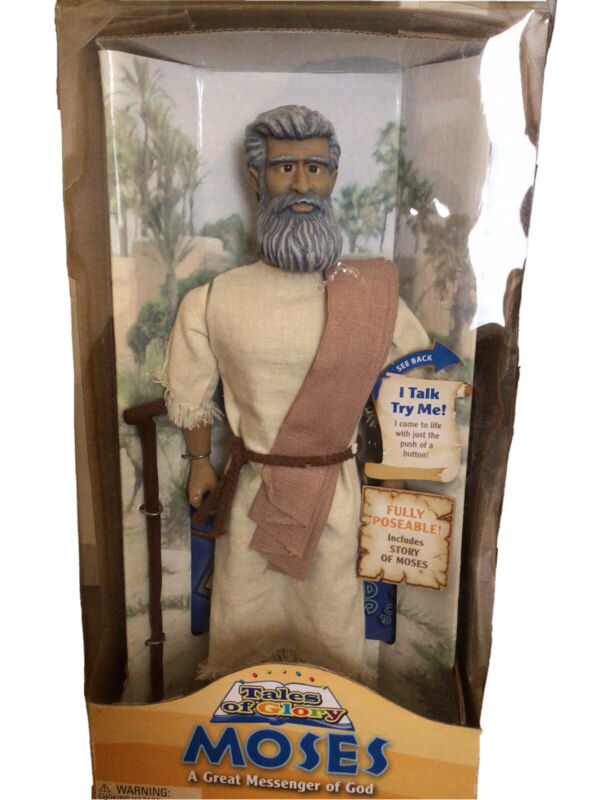 """Moses - Tales Of Glory - One 2 Believe - Religious 12"""" Talking Doll"""