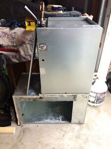 Air handler and intake plenum for sale.