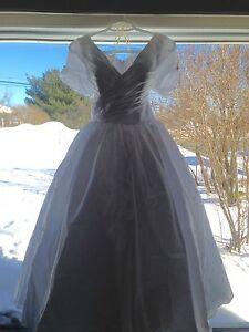 Vintage inspired cocktail length wedding dress