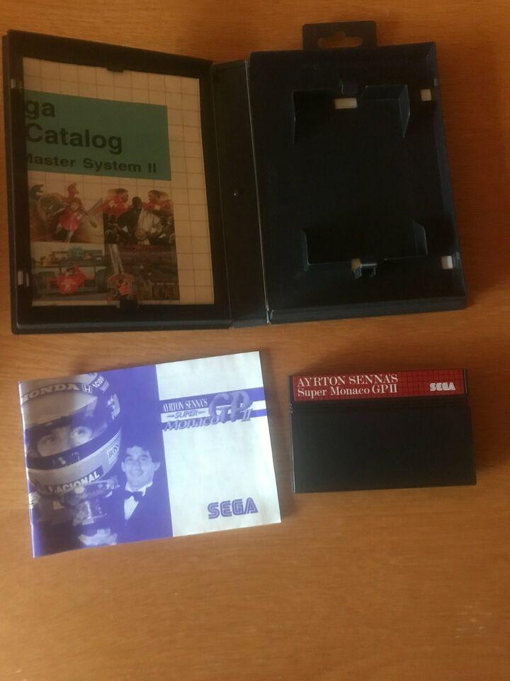Sega Master System Ayrton Senna Super Monaco GP II Spiel TOP in Nordrhein-Westfalen - Schwerte