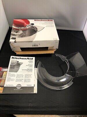 KitchenAid 1 Piece Pouring Shield for Tilt-head Stand Mixers KN1PS 4.5qt & 5 Qt 1 Piece Pouring Shield