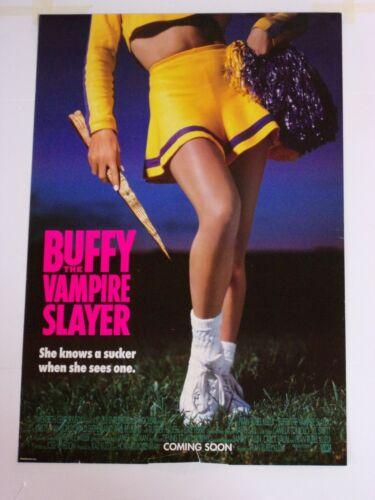 BUFFY VAMPIRE SLAYER Original THEATER-USED Movie Poster 27x40 One Sheet DS - C5