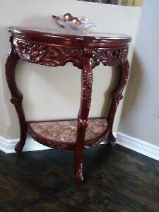 Enterway decor Vanity  (Table and Mirror)