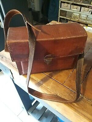Vintage Old Leather Bag