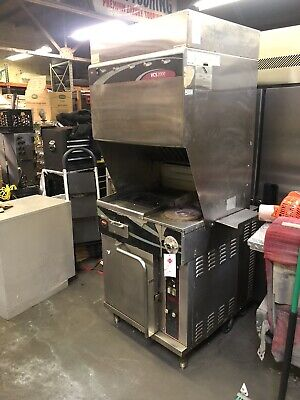 Wells Wvoc-2hfg Electric Ventless Exhst Range Oven Griddle Hot Plates Cook Cente