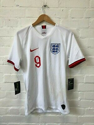 Nike England Football Men's WWC 2019/20 Home Shirt - Small - White - Kane 9 -NWD
